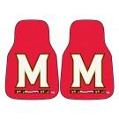 "Maryland Terrapins 17"" x 27"" Carpet Auto Floor Mat (Set of 2 Car Mats)"