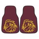 """Minnesota (Duluth) Bulldogs 17"""" x 27"""" Carpet Auto Floor Mat (Set of 2 Car Mats)"""