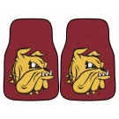 "Minnesota (Duluth) Bulldogs 17"" x 27"" Carpet Auto Floor Mat (Set of 2 Car Mats)"
