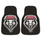 "New Mexico Lobos 17"" x 27"" Carpet Auto Floor Mat (Set of 2 Car Mats)"