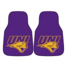 "Northern Iowa Panthers 17"" x 27"" Carpet Auto Floor Mat (Set of 2 Car Mats)"