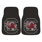 "South Carolina Gamecocks 17"" x 27"" Carpet Auto Floor Mat (Set of 2 Car Mats)"