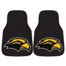 "Southern Mississippi Golden Eagles 17"" x 27"" Carpet Auto Floor Mat (Set of 2 Car Mats)"