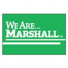 "Marshall Thundering Herd 19"" x 30"" Starter Mat (with ""We Are Marshall"")"