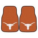"Texas Longhorns 17"" x 27"" Carpet Auto Floor Mat (Set of 2 Car Mats)"