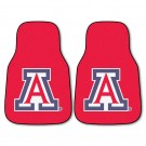 "Arizona Wildcats 27"" x 18"" Auto Floor Mat (Set of 2 Car Mats)"