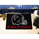 "Atlanta Falcons 19"" x 30"" Starter Mat (Black)"