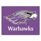 "Wisconsin (Whitewater) Warhawks 34"" x 45"" All Star Floor Mat"
