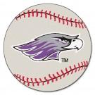"Wisconsin (Whitewater) Warhawks 27"" Round Baseball Mat"