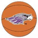 "Wisconsin (Whitewater) Warhawks 27"" Round Basketball Mat"