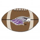 "Wisconsin (Whitewater) Warhawks 22"" x 35"" Football Mat"