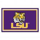 Louisiana State (LSU) Tigers 4' x 6' Area Rug