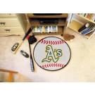 "27"" Round Oakland Athletics Baseball Mat"