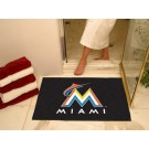 "Miami Marlins 34"" x 44.5"" All Star Floor Mat"