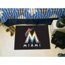 "Miami Marlins 20"" x 30"" Starter Mat"