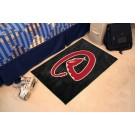 "Arizona Diamondbacks 19"" x 30"" Starter Mat"
