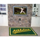 Oakland Athletics 5' x 8' Area Rug by