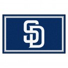 San Diego Padres 4' x 6' Area Rug