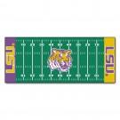 "Louisiana State (LSU) Tigers 30"" x 72"" Football Field Runner"