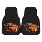 "Oregon State Beavers 17"" x 27"" Carpet Auto Floor Mat (Set of 2 Car Mats)"