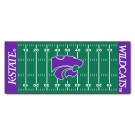 "Kansas State Wildcats 30"" x 72"" Football Field Runner"