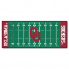 "Oklahoma Sooners 30"" x 72"" Football Field Runner"