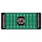 """South Carolina Gamecocks 30"""" x 72"""" Football Field Runner"""