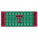 "Texas Tech Red Raiders 30"" x 72"" Football Field Runner"