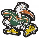 Miami Hurricanes 3' x 3' Mascot Mat