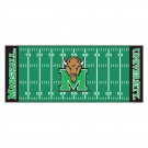"Marshall Thundering Herd 30"" x 72"" Football Field Runner"