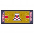 "Arizona Wildcats 30"" x 72"" Basketball Court Runner"