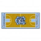 "North Carolina Tar Heels 30"" x 72"" Basketball Court Runner"