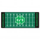 "North Dakota  Hawks 30"" x 72"" Football Field Runner"