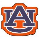 """Auburn Tigers 3' x 3' Mascot Mat (with """"AU"""")"""