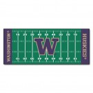 "Washington Huskies 30"" x 72"" Football Field Runner"