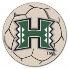 "Hawaii Rainbow Warriors 27"" Round Soccer Ball Mat"