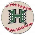 "Hawaii Rainbow Warriors 27"" Round Baseball Mat"