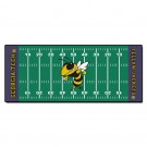 """Georgia Tech Yellow Jackets 30"""" x 72"""" Football Field Runner"""