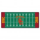"USC Trojans 30"" x 72"" Football Field Runner"