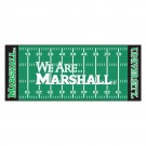 "Marshall Thundering Herd 30"" x 72"" Football Field Runner (with ""We Are Marshall"")"