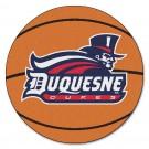 "27"" Round Duquesne Dukes Basketball Mat"
