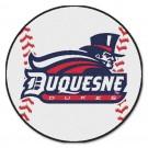 "27"" Round Duquesne Dukes Baseball Mat"