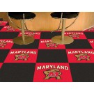 "Maryland Terrapins 18"" x 18"" Carpet Tiles (Box of 20)"
