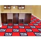 """New York Giants 18"""" x 18"""" Carpet Tiles (Box of 20)"""