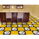 "Pittsburgh Steelers 18"" x 18"" Carpet Tiles (Box of 20)"