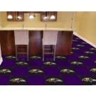 "Baltimore Ravens 18"" x 18"" Carpet Tiles (Box of 20) by"