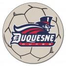 "27"" Round Duquesne Dukes Soccer Mat"