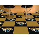 "Jacksonville Jaguars 18"" x 18"" Carpet Tiles (Box of 20)"