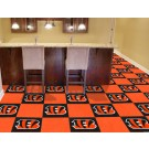 "Cincinnati Bengals 18"" x 18"" Carpet Tiles (Box of 20)"