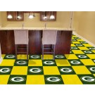 "Green Bay Packers 18"" x 18"" Carpet Tiles (Box of 20)"